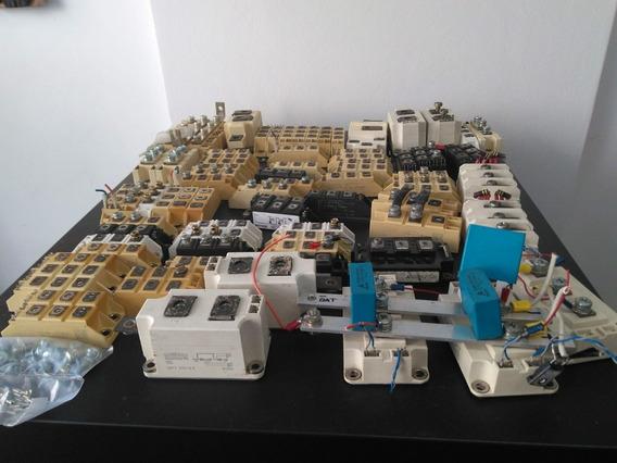 Lote Blocos Semicondutores Usados. 120 Peças De Varios Tipo.