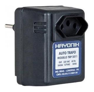 Auto Transformador Hayonik 127/220vac 50va Trp 5011 Preto