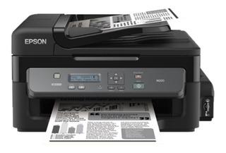 Impresora Epson Multifuncion Workforce M200 Ecotank Monocr.
