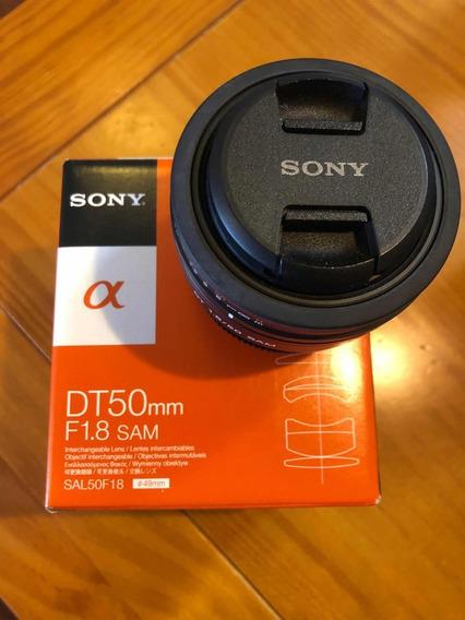 Lente Sony 50mm 1.8/50 - Sal50f18
