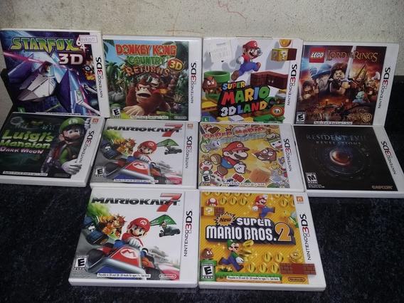 2 Jogos Nintendo 3ds: Mario Kart