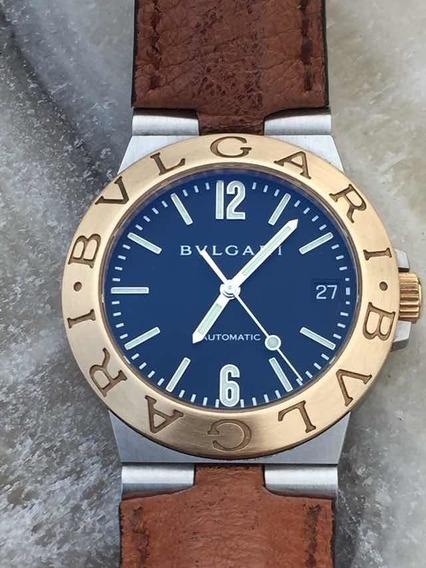 Reloj Bvlgari Oro Acero Full Set Ref. Lcv35sg Rolex Cartier