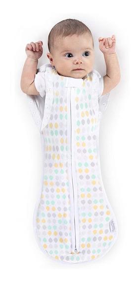 Saco Para Dormir Bebe Convertible Woombie Bolitas 3-6 M
