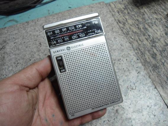 Rádio De Bolso General Eletric Mod. 7.2582d - No Estado