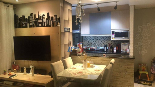 Imagem 1 de 30 de Apartamento Com 2 Dormitórios À Venda, 54 M² Por R$ 430.000,00 - Belém - São Paulo/sp - Ap2584