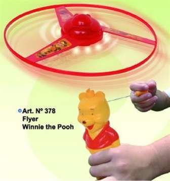 Flyer Winnie The Pooh Con Luz