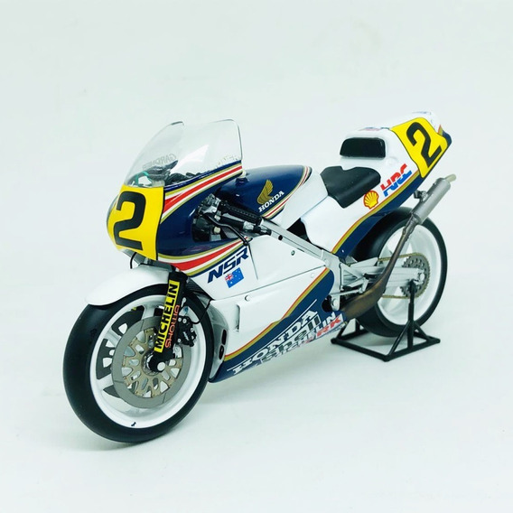Miniatura Moto Honda Nsr 500 Motogp 1987 1:12 Minichamps