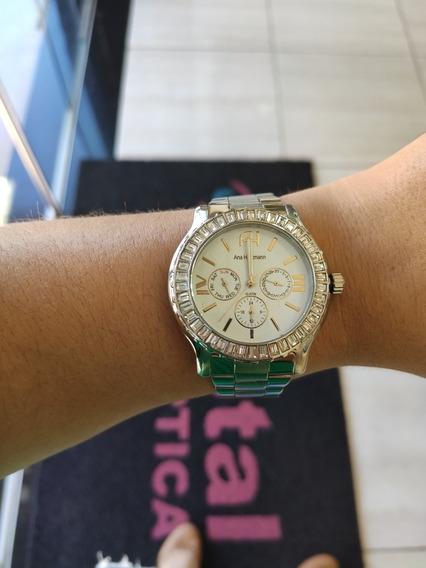 Relógio Magnum Original Pulseira De Aço
