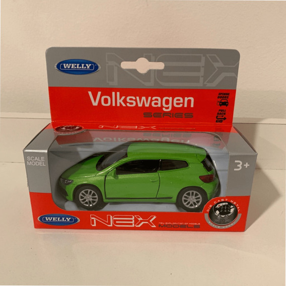 Volkswagen Series Auto Metálico De Colección Welly