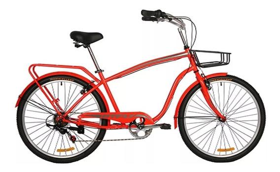 Bicicleta Dtfly Playera Oxford Shimano Cambios Tipo Moto