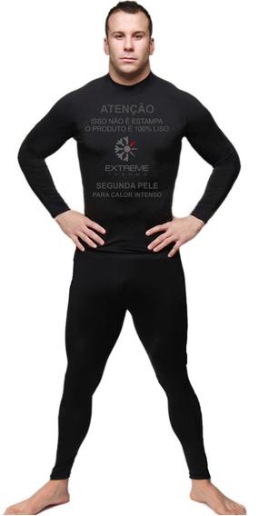 Segunda Pele Extreme Anti Calor Calça + Camiseta Proteção Uv