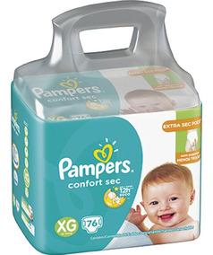 Fraldas Pampers Confort Sec M 94, G 82 Ou Xg 76 - Oferta!