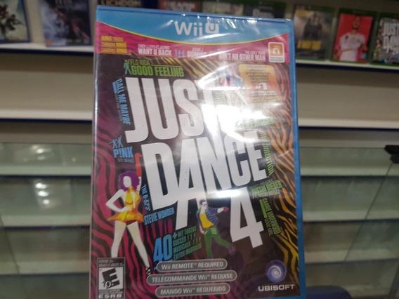 Just In Dance 4 Lacrado Original Nintendo Wii U Mídia Física