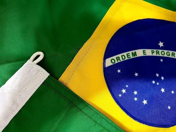 Bandeira Do Brasil Nylon Para Embarcações Carros Jogos 23x35