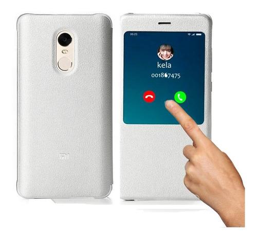 Flip Cover Xiaomi Original!!! Xiaomi Redmi Note 4 Con Sensor