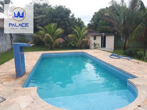 Chácara À Venda, 1250 M² Por R$ 500.000,00 - Chácara Recreio Cruzeiro Do Sul - Santa Bárbara D'oeste/sp - Ch0022