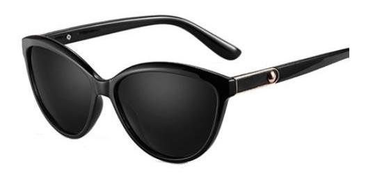 Óculos Escuros Feminino Polarizado Gatinho Com Proteção Uv