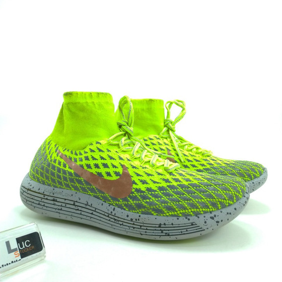 Tênis Nike Lunar Epic Flyknit Mid Corrida Shild