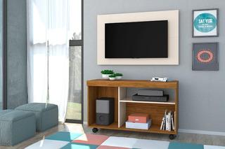 Mueble Rack Modular + Panel Led Mesa Tv Lcd Living Comedor !