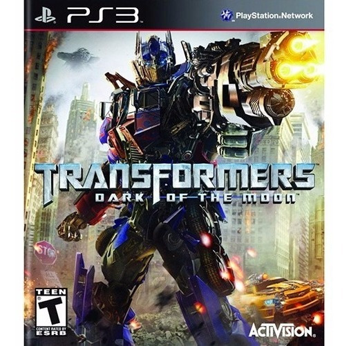 Novo Jogo Transformers Dark Of The Moon Para Playstation 3