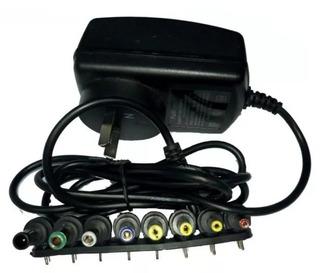 Fuente Cargador 9 Volts Kit 8 Plug Cambio Polaridad