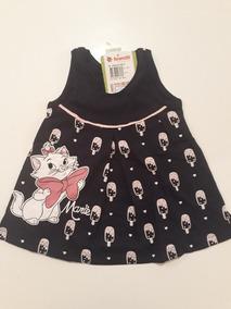 Vestido Infantil Para Bebês De 6 À 9 Mese Feminino