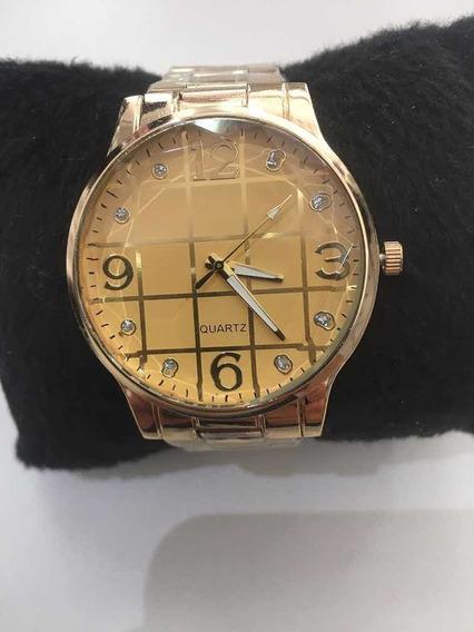 Relógio Feminino Promoção Dourado