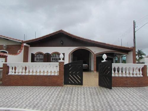 Casa Impecável À Venda, Parque Balneário Oásis, Peruíbe. - 9512