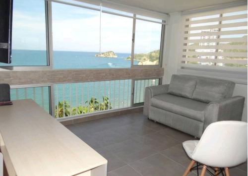 Imagen 1 de 14 de Moderno Apartamento Frente A La Playa.