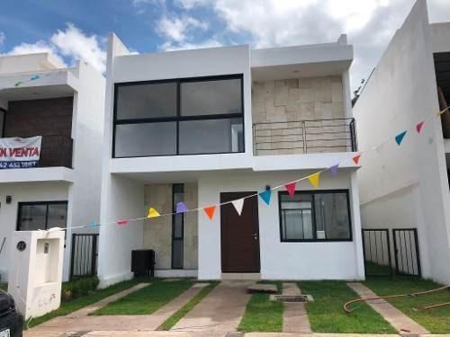 Casa Nueva En Venta En Privada En Corregidora Querétaro