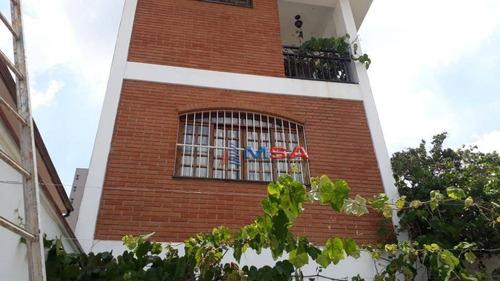 Imagem 1 de 25 de Sobrado Á Venda 7 Dormitórios, 6 Banheiros, 4 Vagas,  271m²  Em Pompeia - Ca1230