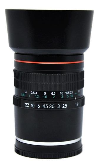 Lente Igual Rokinon 85mm F1.8 Full Frame E-mount Nex 7 5 3