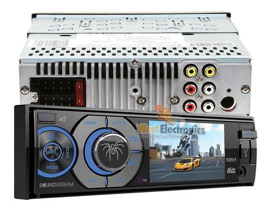 Stereo Soundstream Vr-345b Usb Mp3 Mp4 Dvd Bluetooth Aux Swc