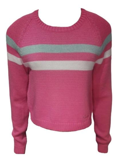 Sweater Scombro Modelo: Corto 3 Rayas Delant. Cod: 125