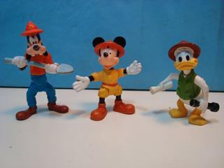 Mc Donalds Disney Mickey Goofy Donald Animal Kingdom 1998