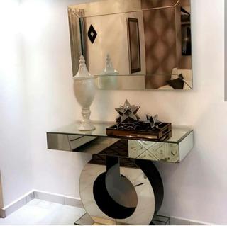 Repisa Cristalizada + Su Espejo