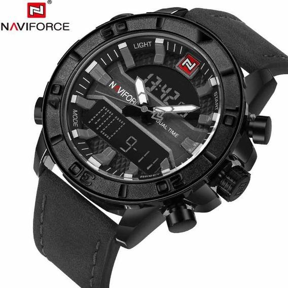 Relógio Naviforce 9114 Analógico Digital Original Promoção