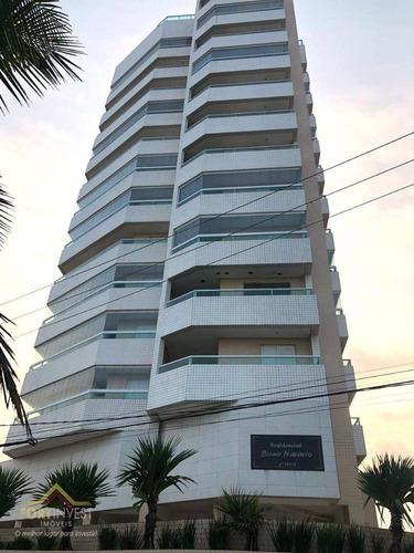 Imagem 1 de 25 de Apartamento Com 2 Dormitórios À Venda, 83 M² Por R$ 400.000,00 - Caiçara - Praia Grande/sp - Ap2585