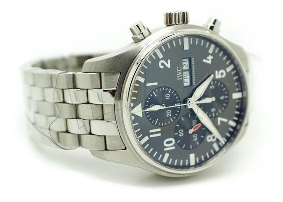 Relógio Iwc Pilot Steel
