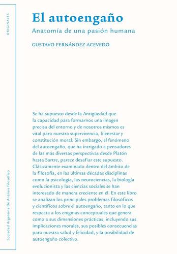 Gustavo Fernández Acevedo - El Autoengaño (editorial Sadaf)