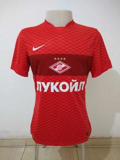 Camisa Spartak Moscow Nike #17 Home 14/15 De Jogo Original