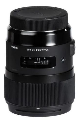 Imagem 1 de 9 de Lente Sigma Dg 35mm F/1.4 Hsm Art Para Canon