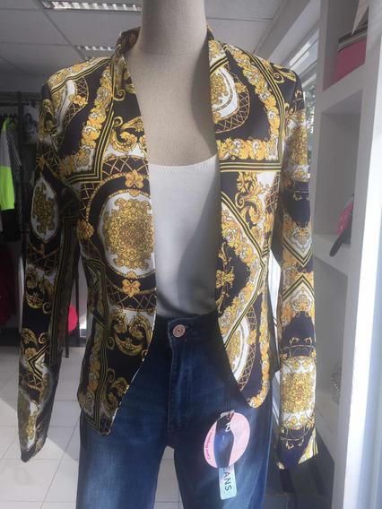 Saco Estampado Tipo Versace