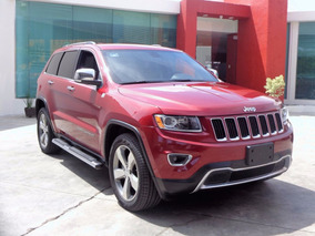 Jeep Grand Cherokee Limited 4x2 6cil 2014 Rojo Cereza