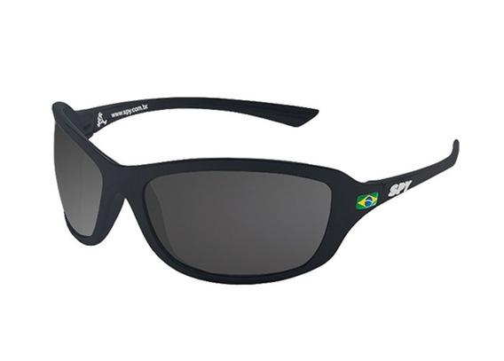 Óculos De Sol Spy Link 44 Preto Fosco Polarizado