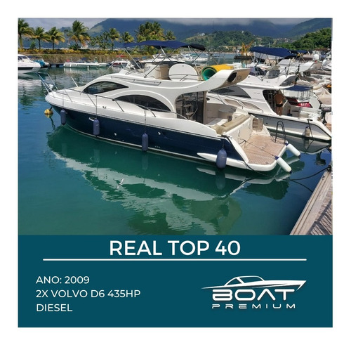 Real Top 40, 2009, 2x Volvo D6 435hp - Intermarine Phantom
