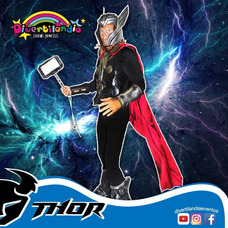 Thor Ironman Superman Spiderman Personajes Fiestas Disfrases