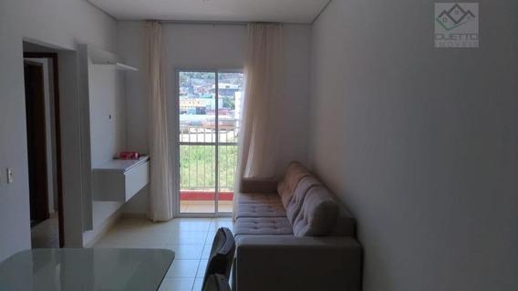 Apartamento Com 2 Dormitórios À Venda, 59 M² Por R$ 200.000 - Mogi Moderno - Mogi Das Cruzes/sp - Ap0069