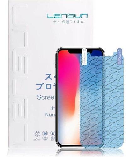 Imagen 1 de 4 de Protector Pantalla Lensun Apple iPhone XS Y iPhone X Por A X