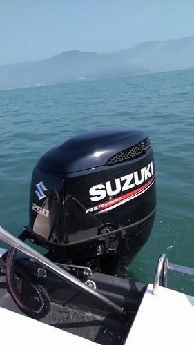 Motor De Popa Suzuki 250hp 0km 2021  4 Tempos Injeçao
